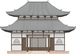 Japanese Shrine by Herbertrocha