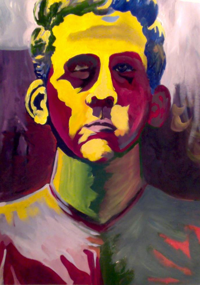 Self Portrait 2 Monkey Ears by JFrankW