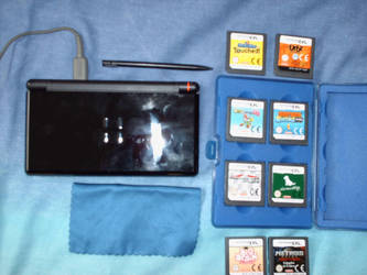 My DSlite and games by Alcat