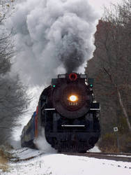 Cloud of Smoke by AmtrakGuy365