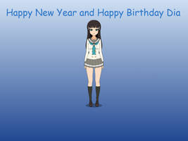 Happy New Year and Happy Birthday, Dia! by AlexArgentin