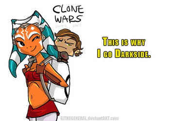 Why Darkside Clone Wars Doodle by ElTheGeneral