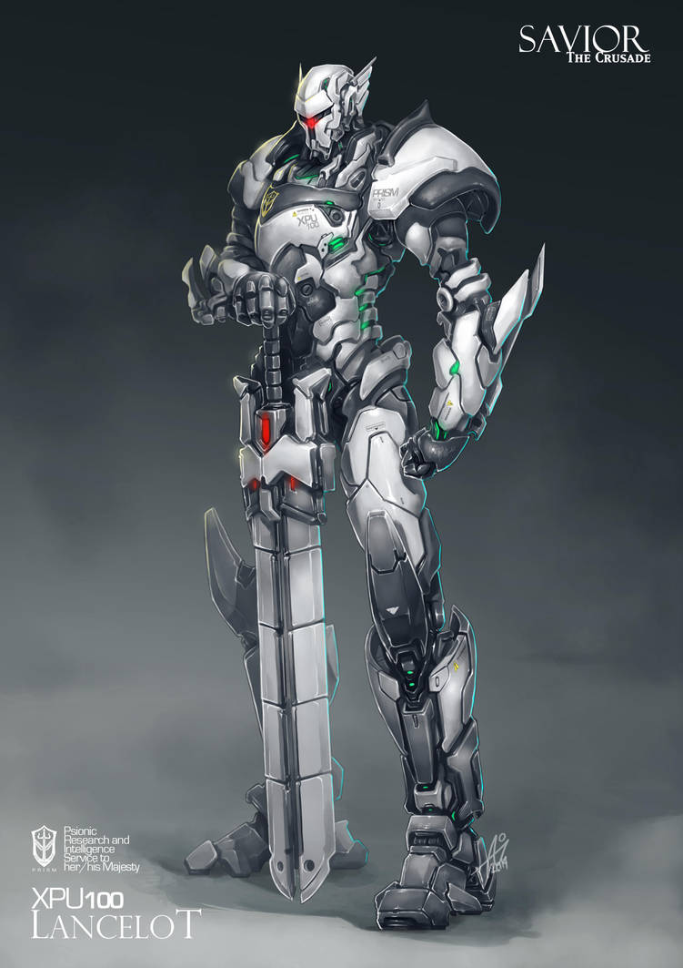 Commission: XPU100 Lancelot by aiyeahhs