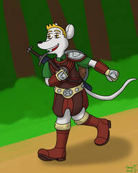 Mouse Adventurer by SuperGenji