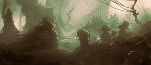 Swamps of Pastafazoul by M0nkeyBread