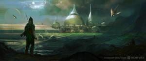 HEATHEN Brotherhood Colony Outpost by M0nkeyBread
