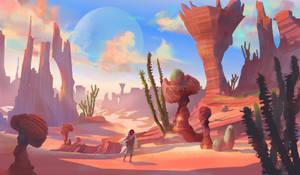 Desert Mother by M0nkeyBread