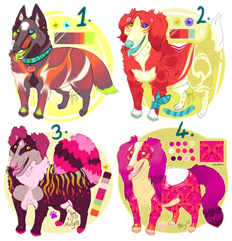 Design batch for sale- CLOSED by karby-licious