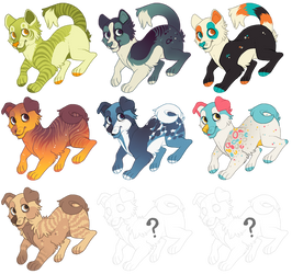 Adopt a Dog/Cat - [2 LEFT] by Plumbeck
