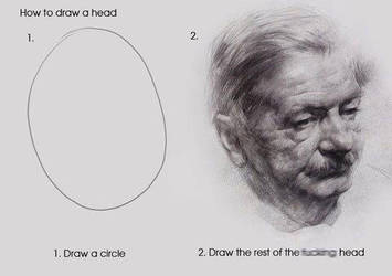 how to draw a head by arminmersmann