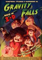 Fanart - Gravity Falls by ben-ben
