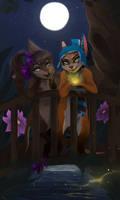 Fireflies by Rainbowgutss