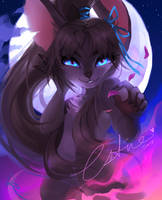 Commission - Minkee by Rainbowgutss