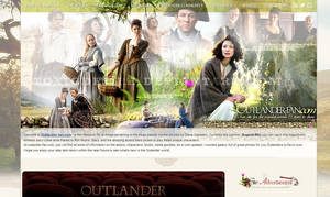 Outlander Layout by toxicdesire