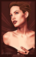Angelina Jolie by toxicdesire
