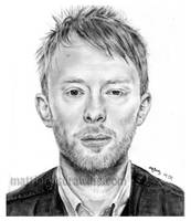 Thom Yorke by lloveandsqualor