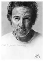 Bruce Springsteen by lloveandsqualor