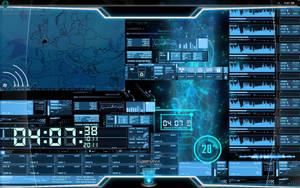 Future HUD desktop. by reformedpunk