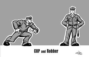 'Cop and Robber' by SaviorsSon