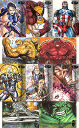 Marvel Premier Sketch Cards 1.2 by SaviorsSon