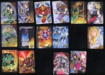 Marvel 3D Upper Deck Sketch Cards 2 by SaviorsSon