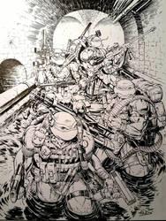 Seal Team Turtles by SaviorsSon