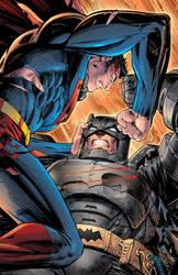 Batman vs Superman Colors by SaviorsSon