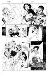 Monomyth page27 Inks by SaviorsSon