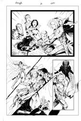 Monomyth pages 28 Inks by SaviorsSon