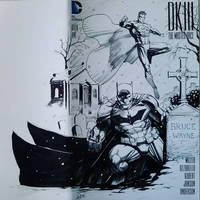 Dark Knight III sketchcover Inks by SaviorsSon