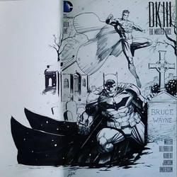Dark Knight III sketchcover Inks by SaviorsSon
