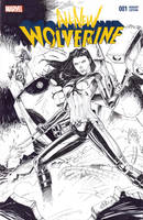 X-23 Sketch Cover Inks by SaviorsSon
