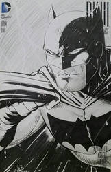 Batman Dark Knight III Sketchcover  by SaviorsSon