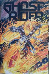 Ghost Rider Sketchcover  by SaviorsSon