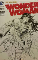 Wonder Woman Sketchcover  by SaviorsSon