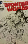 Wonder Woman Sketchcover  by SaviorsSon