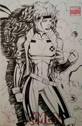 Rogue X-Men Sketchcover by SaviorsSon