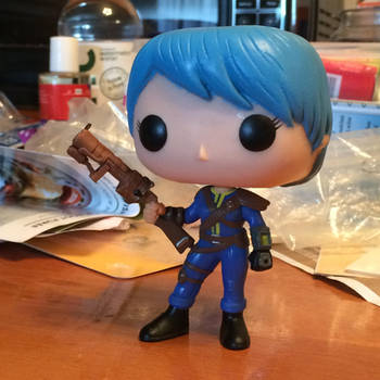 Custom Funko female Lone Wanderer by the-flying-dolphin