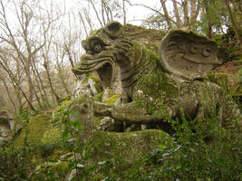 Bomarzo Monster Park 1 by Amor-Fati-Stock