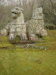Bomarzo Monster Park 11 by Amor-Fati-Stock