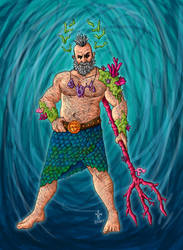 Poseidon by MrDusc