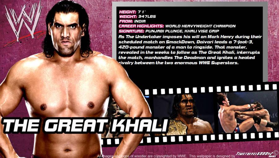 Wwe The Great Khali Id Wallpaper Widescreen By Timetravel6000v2 On