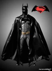 Batman Costume in Superman/Batman Movie by Timetravel6000v2