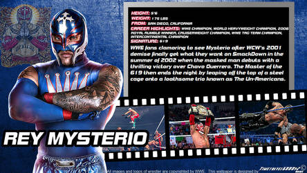 WWE Rey Mysterio ID Wallpaper Widescreen by Timetravel6000v2