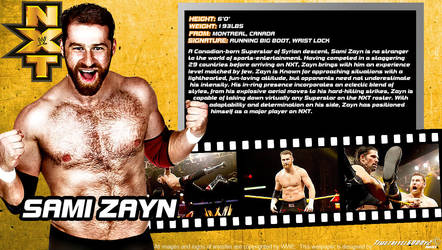 WWE Sami Zayn ID Wallpaper Widescreen by Timetravel6000v2