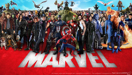 Marvel Cinematic Multiverse Wallpaper Widescreen by Timetravel6000v2