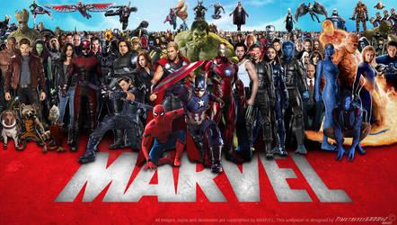 Marvel Cinematic Multiverse Wallpaper Widescreen 2 by Timetravel6000v2