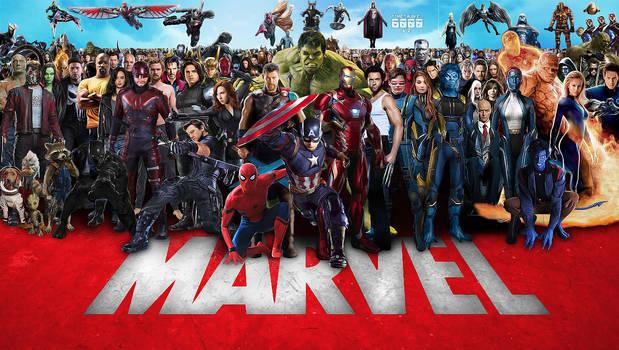 Marvel Cinematic Multiverse Wallpaper Widescreen 3 by Timetravel6000v2