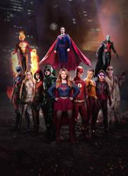 CW DCTV Poster by Timetravel6000v2