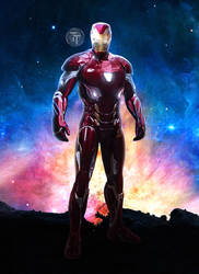 Iron Man New Armor Avengers Infinity War Mark 48 by Timetravel6000v2